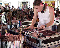 DJ FS of Ming and FS at Coachella 1999