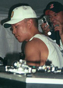 DJ Qbert at Coachella 1999