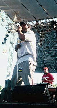 Rahzel at Coachella 1999