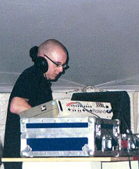 Ritchie Hawtin at Coachella 1999